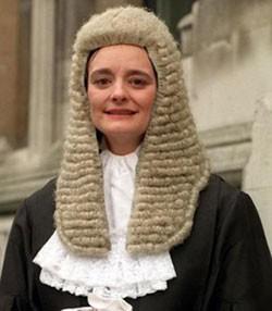 Cherie Blair en avocate