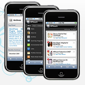 Thème wordpress iphone